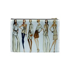 Etc 2012 Spring Group 6 By Lori Cronican   Cosmetic Bag (medium)   Aibajdxdjdb9   Www Artscow Com Back