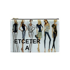 Etc 2012 Spring Group 4 By Lori Cronican   Cosmetic Bag (medium)   1rjnjy5l3082   Www Artscow Com Front