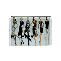 Etc 2012 Spring Group 2 By Lori Cronican   Cosmetic Bag (medium)   80m4klutn610   Www Artscow Com Front