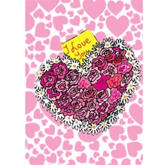 Valentine Card 1 By Kim Blair   Greeting Card 5  X 7    28wrglrmrcc0   Www Artscow Com Front Inside