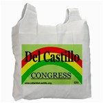 Del Reusable Shopping Bag - Recycle Bag (Two Side)