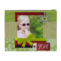 Christmas By Joely   Cosmetic Bag (xl)   7czhznmwdlqw   Www Artscow Com Back