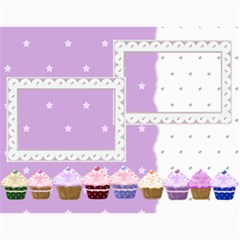 2015 Cupcake Calendar Starting In February By Claire Mcallen   Wall Calendar 11  X 8 5  (12 Months)   Lbagdphuom09   Www Artscow Com Month
