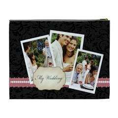 Wedding By Joely   Cosmetic Bag (xl)   X4paceskcxou   Www Artscow Com Back