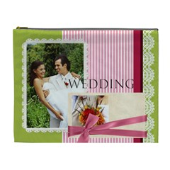 Wedding By Joely   Cosmetic Bag (xl)   7nxw9m8tx1l2   Www Artscow Com Front