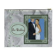 Wedding By Joely   Cosmetic Bag (xl)   Rkgkitjhlgee   Www Artscow Com Back