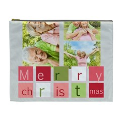 Xmas By May   Cosmetic Bag (xl)   S4jb27rmgg0e   Www Artscow Com Front