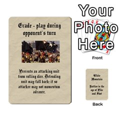 White Mountain Ecw Cards By Andrew Adey   Playing Cards 54 Designs   2d35i3ifdx7l   Www Artscow Com Front - Diamond9