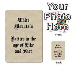 White Mountain Ecw Cards By Andrew Adey   Playing Cards 54 Designs   2d35i3ifdx7l   Www Artscow Com Back