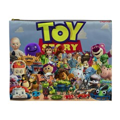 Jackson s Toy Story Bag By Suzy Ray   Cosmetic Bag (xl)   Awyyrev2zlqa   Www Artscow Com Front