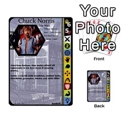 Duel Of Ages By Jeffrey Allen   Multi Purpose Cards (rectangle)   0tzz9k0pt27y   Www Artscow Com Front 36