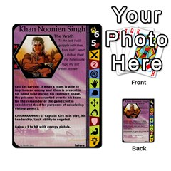 Duel Of Ages By Jeffrey Allen   Multi Purpose Cards (rectangle)   0tzz9k0pt27y   Www Artscow Com Front 49