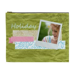 Holiday By Joely   Cosmetic Bag (xl)   6o8zprv0s712   Www Artscow Com Front
