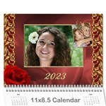 Valentine Wall Calendar (any Year) - Wall Calendar 11  x 8.5  (12-Months)