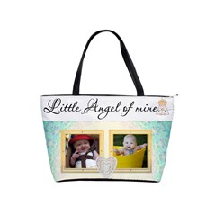 Little Angel Of Mine Classic Shoulder Handbag By Lil    Classic Shoulder Handbag   2k3dc2yvdvul   Www Artscow Com Front