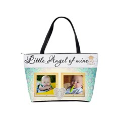 Little Angel Of Mine Classic Shoulder Handbag By Lil    Classic Shoulder Handbag   2k3dc2yvdvul   Www Artscow Com Back