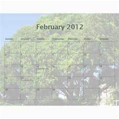 2012 Gee By Elle   Wall Calendar 11  X 8 5  (12 Months)   Pdz2rbyovda2   Www Artscow Com Feb 2012