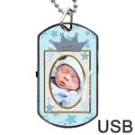 Little Prince Dog Tag USB Flash (2 Sides) - Dog Tag USB Flash (Two Sides)