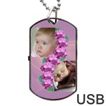 Precious Dog Tag USB (2 sided) - Dog Tag USB Flash (Two Sides)