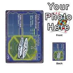 Battlestar Galactica Starship Battles By Michael   Multi Purpose Cards (rectangle)   28cu31moop85   Www Artscow Com Front 18