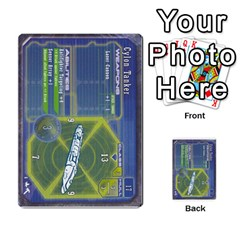 Battlestar Galactica Starship Battles By Michael   Multi Purpose Cards (rectangle)   28cu31moop85   Www Artscow Com Front 3