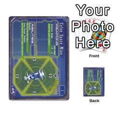 Battlestar Galactica Starship Battles By Michael   Multi Purpose Cards (rectangle)   28cu31moop85   Www Artscow Com Front 4