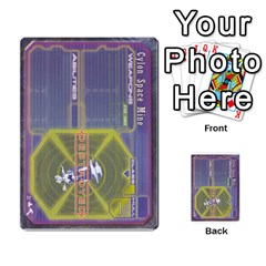 Battlestar Galactica Starship Battles By Michael   Multi Purpose Cards (rectangle)   28cu31moop85   Www Artscow Com Back 4