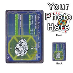 Battlestar Galactica Starship Battles By Michael   Multi Purpose Cards (rectangle)   28cu31moop85   Www Artscow Com Front 45