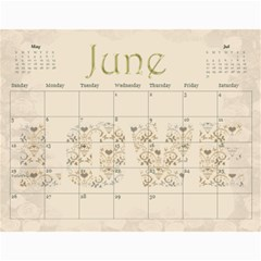 Large Wall  love  Calendar 2015 Red And Gold  By Claire Mcallen   Wall Calendar 11  X 8 5  (12 Months)   3xpqjirggr70   Www Artscow Com Jun 2015