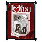 Love Apple iPad 2 Case - Apple iPad 2 Case (Black)
