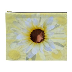 Daisy Xl Cosmetic Bag By Kim Blair   Cosmetic Bag (xl)   Njh95sjefcgu   Www Artscow Com Front