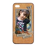 Apple iPhone 4/4s Seamless Case: Cherished Memories - Apple iPhone 4/4s Seamless Case (Black)