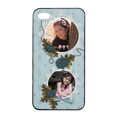 Apple Iphone 4/4s Seamless Case: Cherished Memories2 By Jennyl   Apple Iphone 4/4s Seamless Case (black)   Fbawtvyskuxa   Www Artscow Com Front