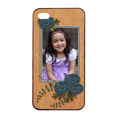 Apple Iphone 4/4s Seamless Case: Cherished Memories3 By Jennyl   Apple Iphone 4/4s Seamless Case (black)   Ujnx8h2a9tss   Www Artscow Com Front