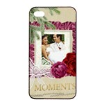 wedding - Apple iPhone 4/4s Seamless Case (Black)