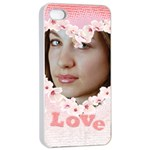 Love case - Apple iPhone 4/4s Seamless Case (White)