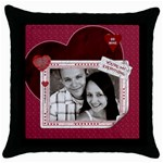 You re My Everything Throw Pillow Case - Throw Pillow Case (Black)