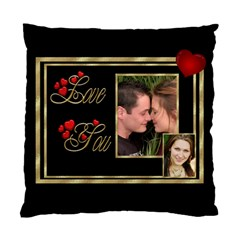 Love You (2 Sided) Cushion Case By Deborah   Standard Cushion Case (two Sides)   M585a2tclasf   Www Artscow Com Back