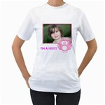 Im a Hoot - Women s T-Shirt (White) (Two Sided)
