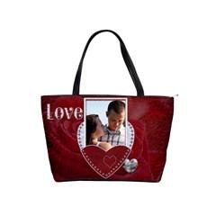 Love Forever Classic Shoulder Handbag By Lil    Classic Shoulder Handbag   Awhyhvs733pi   Www Artscow Com Front