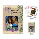 Best Friends Forever Playing Cards - Playing Cards Single Design