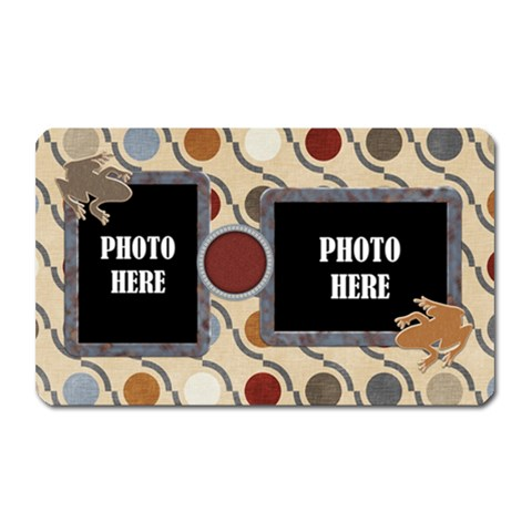 Junior Magnet Rectangle By Lisa Minor   Magnet (rectangular)   R53heuwn7qct   Www Artscow Com Front