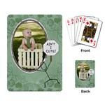Ain t I Cute Playing Cards - Playing Cards Single Design