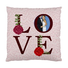 Love By Joely   Standard Cushion Case (two Sides)   Bw0hvmvkcc16   Www Artscow Com Back