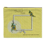 XL Cosmetic Bag: Beautiful Life - Cosmetic Bag (XL)