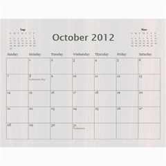 Polly By Karen Bailey   Wall Calendar 11  X 8 5  (12 Months)   3cykpx9p77fa   Www Artscow Com Oct 2012