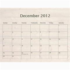 Polly By Karen Bailey   Wall Calendar 11  X 8 5  (12 Months)   3cykpx9p77fa   Www Artscow Com Dec 2012