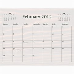 Polly By Karen Bailey   Wall Calendar 11  X 8 5  (12 Months)   3cykpx9p77fa   Www Artscow Com Feb 2012