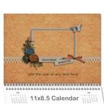 polly 2 - Wall Calendar 11  x 8.5  (12-Months)