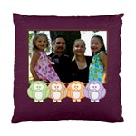 owl family - Standard Cushion Case (One Side)